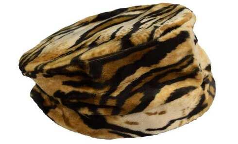 obrázek Klobouk látkový tygrovaný