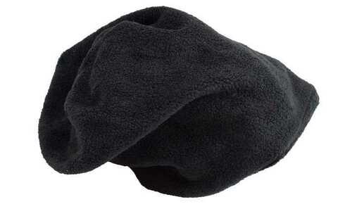 obrázok Čiapka fleecová čierna - tunel