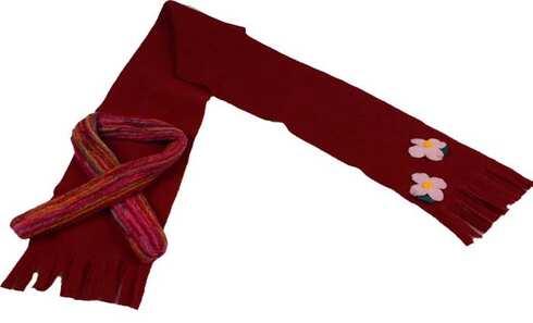 obrázek Šála červená fleecová
