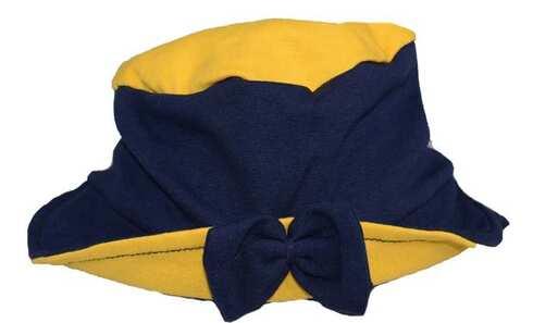 obrázek Dětský klobouk modro žlutý