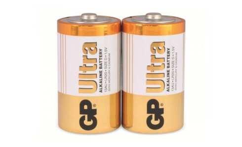 obrázek Alkalické baterie GP B1941 LR20 ULTRA, 2ks