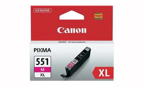 obrázek Cartridge CANON CLI-551M XL (6445B001), purpurová