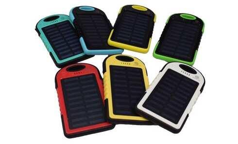obrázek Powerbanka - Solární nabíječka se svítilnou