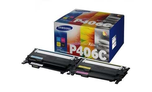obrázek Cartridge SAMSUNG CLT-P406C ELS, sada barev