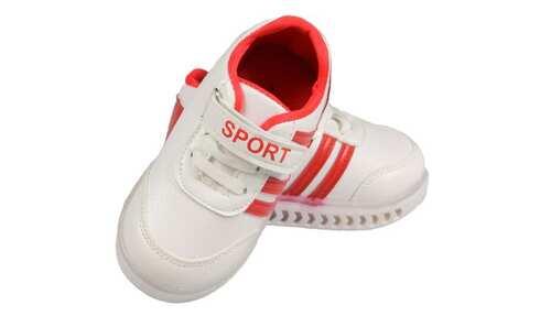 obrázek Dětské tenisky blikající bíločervené 21, 22, 23, 24, 25