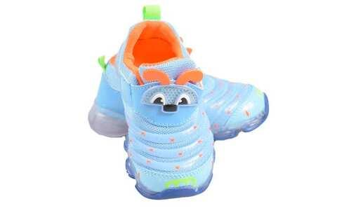obrázek Dětské tenisky blikající modré (brouček)