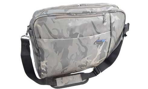 obrázek Brašna/batoh na notebook šedý maskáč