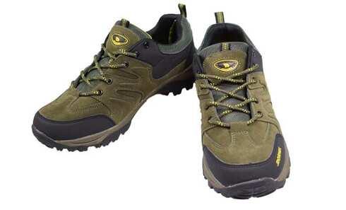 obrázek Trekové boty černozelené vel.44