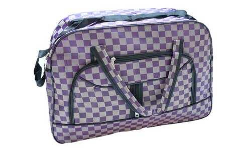 obrázek Cestovní taška šedofialová