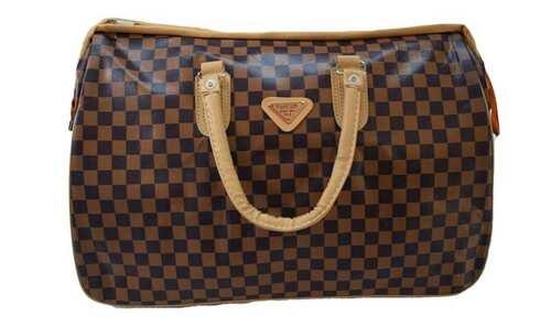 obrázek Cestovní taška hnědočerná