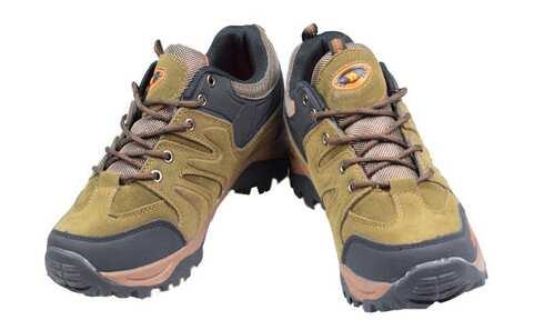 obrázek Trekové boty hnědozelené vel.36