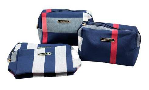 obrázok Kozmetická taška Beautiful life modrá