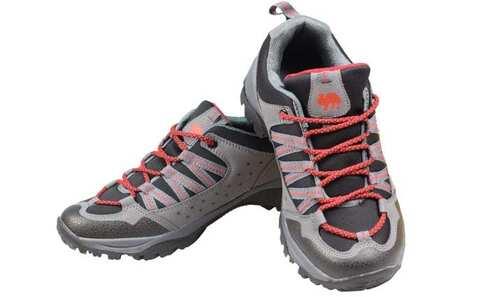 obrázek Trekové boty šedočervené vel.43