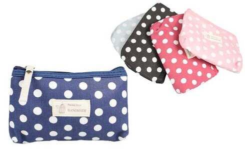 obrázek Kosmetická taška s puntíky Handmade