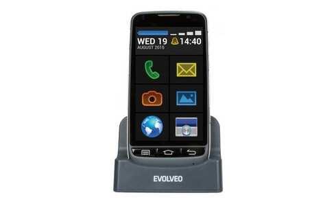 obrázek Mobilní telefon EVOLVEO EasyPhone D2 , černý