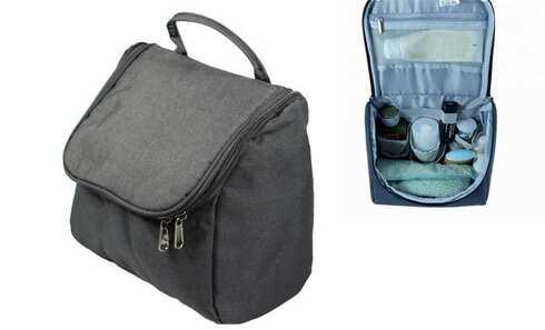 obrázek Kosmetická taška závěsná černá