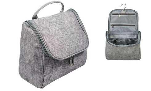 obrázok  Kozmetická taška závesná šedá