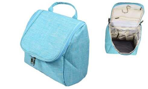 obrázok  Kozmetická taška závesná svetlo modrá