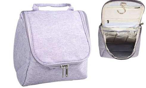 obrázok  Kozmetická taška závesná fialová