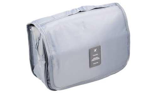 obrázek Kosmetická taška závěsná šedá
