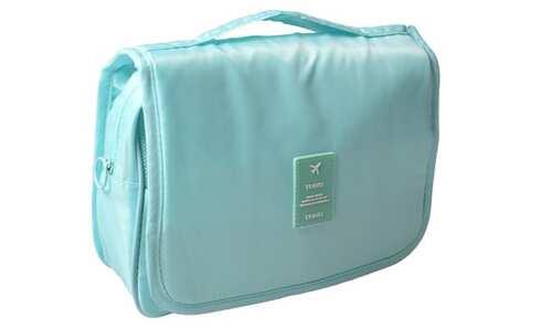 obrázek Kosmetická taška závěsná bledě modrá