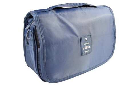 obrázek Kosmetická taška závěsná modrá