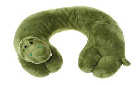 obrázek Cestovní polštářek krokodýl