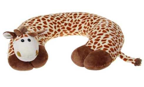 obrázek Cestovní polštářek žirafa světlá