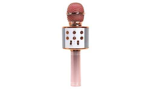 obrázok Karaoke mikrofon WS-858 rosegold