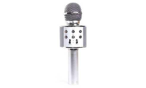 obrázek Karaoke mikrofon WS-858 stříbrný