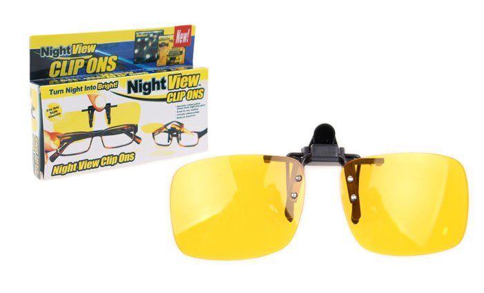 Klip na brýle na noční vidění