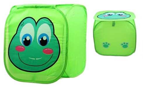 obrázok Úložný box na hračky žabička