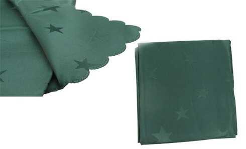 obrázek Ubrus Jacquard 80 x 80 cm zelený