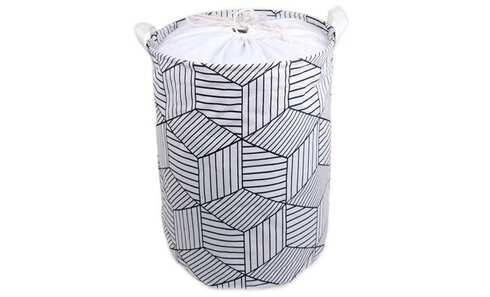 obrázek Koš na prádlo geometrický vzor