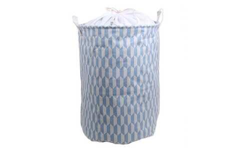 obrázek Koš na prádlo modrošedý