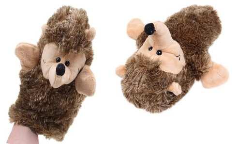 obrázek Plyšový maňásek na ruku ježek