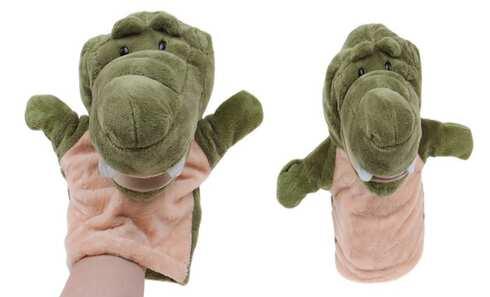obrázok Plyšový maňuška na ruku krokodíl