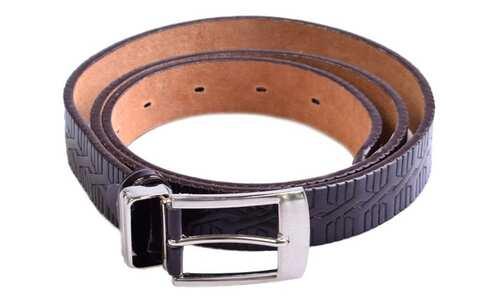 obrázek Kožený pásek hnědý var.2