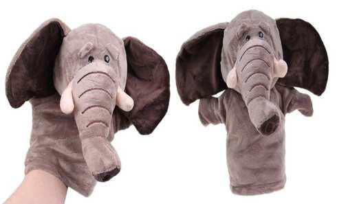 obrázek Plyšový maňásek na ruku slon