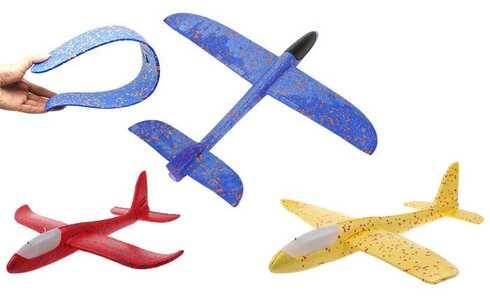 obrázok Penové hádzací lietadlo