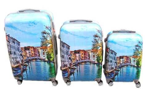 obrázek Sada 3 skořepinových kufrů (Benátky)