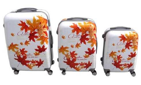 obrázek Sada 3 skořepinových kufrů (podzim)