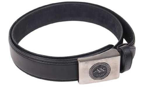 obrázek Kožený pásek černý var.8