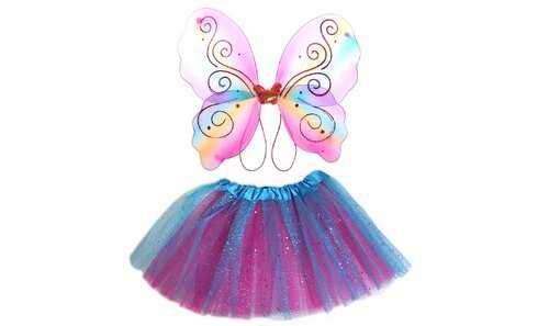 obrázek Kostým motýlek barevný