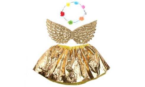 obrázek Kostým anděl zlatý