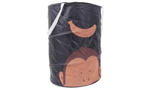 obrázek Dětský úložný box černý opice