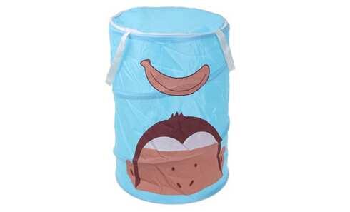 obrázek Dětský úložný box modrý opice