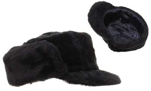 obrázok  Klobúk zimný čierny