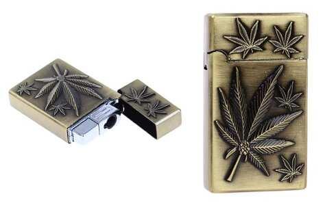 obrázok Plynový zapaľovač marihuana