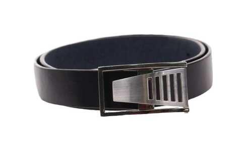 obrázek Kožený pásek černý var.15